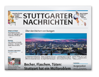 Stuttgarter Nachrichten am 11.11.2016